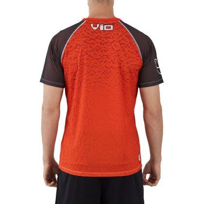 Camiseta deporte hombre naranja