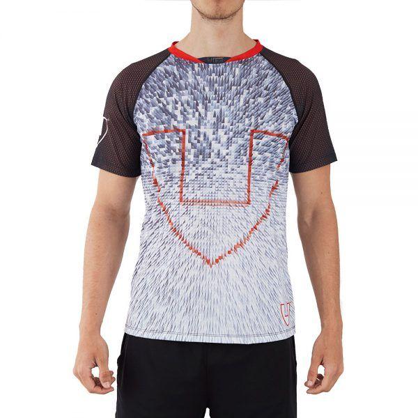 Camiseta deporte hombre técnica blanca