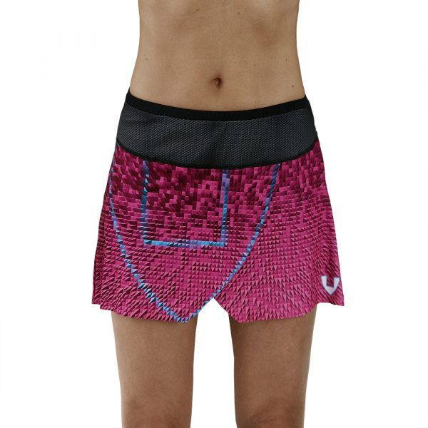 Falda pantalón deporte rosa